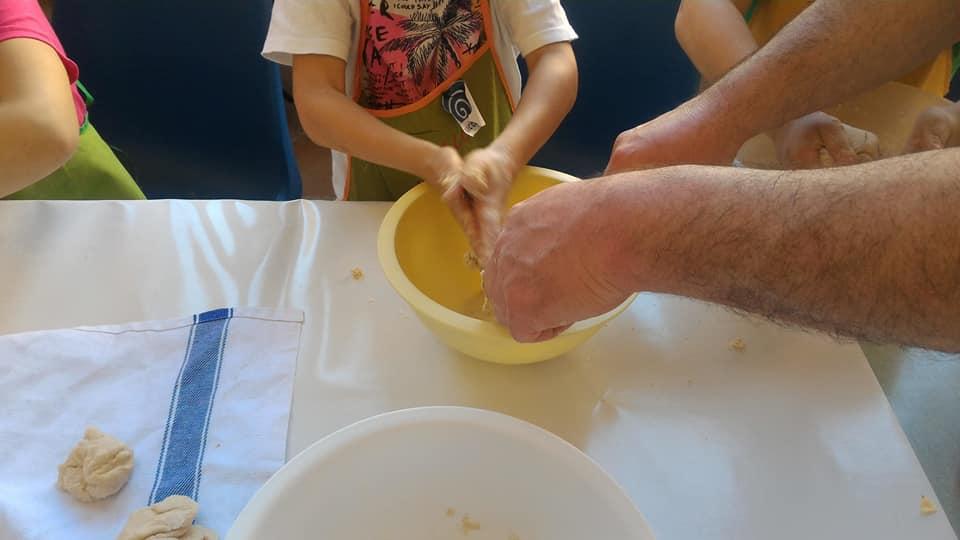 Laboratorio pane per bambini